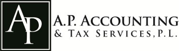 A.P. Accounting & Tax Services, PL Logo